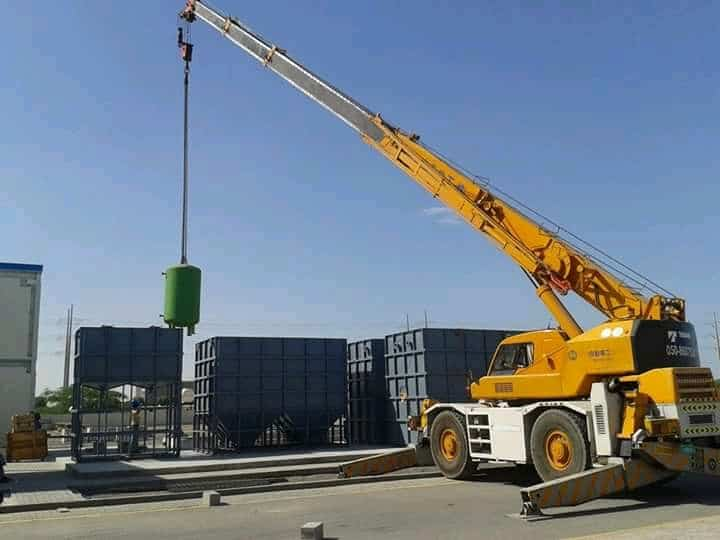 Supply & Installation of Water Treatment Plants